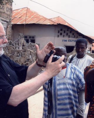 Feierlichkeiten zum 90. Geburtstag von Susanne Wenger in Oshogbo