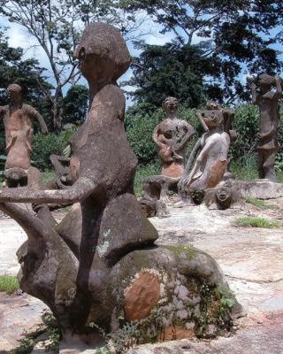 Oja Oshogbo Marktplatz von Shaka