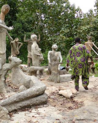 Oja Oshogbo Marktplatz von Shaka, restauriert von Adebisi