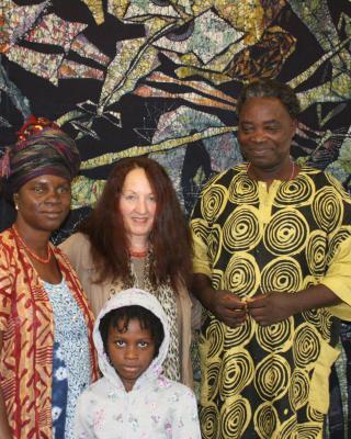 Adedoyin Faniyi Talabi Olosun, Martha Denk, Shangodare Gbadegesin Ajala, son of Adedoyin