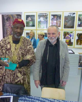 Chief Muraina Oyelami und Wolfgang Denk