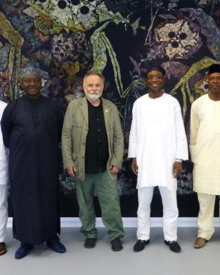 Besuch des Gouverneurs vom Oshun State/Nigeria, Rauf Aregbesola